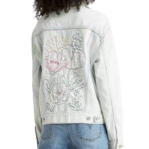 Levi's Ex-Boyfriend Floral Nouveau Trucker Jacket